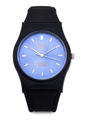 VP34J048Y 三指zalora 評價針矽膠錶, 錶類, 其它錶帶