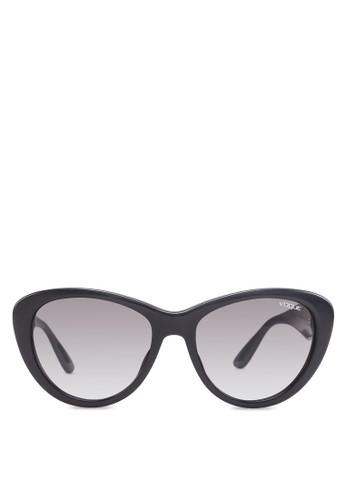 In Vogue 貓眼太陽眼鏡, zalora 評價飾品配件, 貓眼框