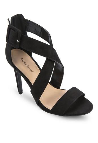 Crossozalora開箱ver Strap Open Toe Heel, 女鞋, 鞋