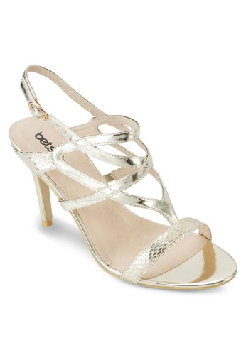 多帶露趾高跟鞋, 女鞋, 魚zalora 折扣碼口鞋