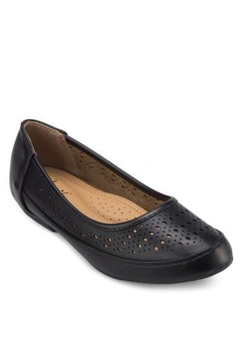 雕花娃娃鞋, 女zalora 台灣鞋, 芭蕾平底鞋