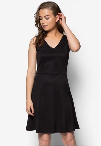 V 領寬擺洋裝,zalora 鞋評價 服飾, 洋裝