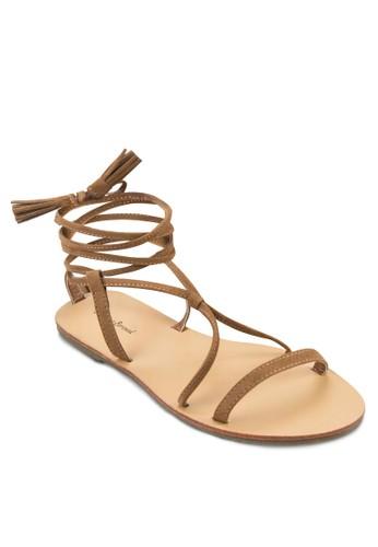 麂皮羅zalora退貨馬涼鞋, 女鞋, 鞋