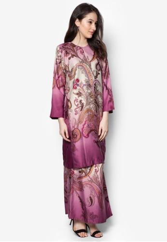 Baju Kurung Azani from Butik Sireh Pinang in Purple