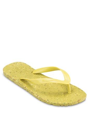 亮色夾zalora退貨腳拖鞋, 鞋, 拖鞋