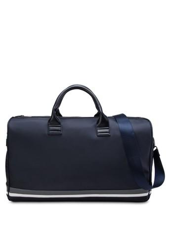 Stripezalora鞋d Base Duffel Bag, 包, 行李袋