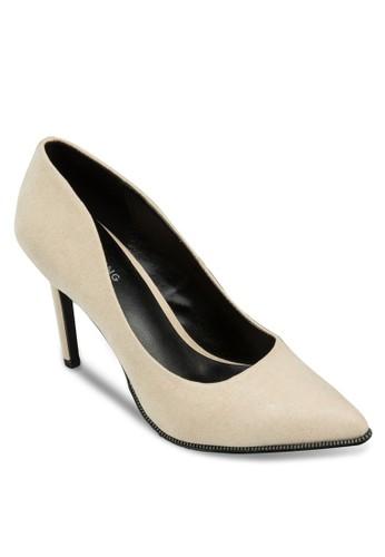Scucina 細跟尖頭高跟鞋, 女鞋,zalora開箱 鞋