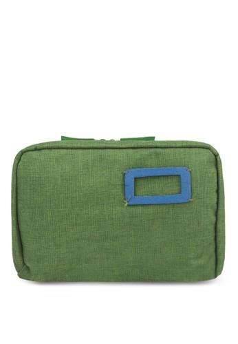 布料拉鍊化妝包, 包, zalora 心得旅行配件