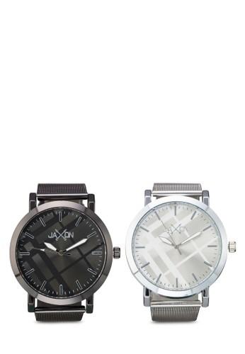 Brent 圓框情侶對裱, 錶zalora 鞋評價類, 不銹鋼錶帶