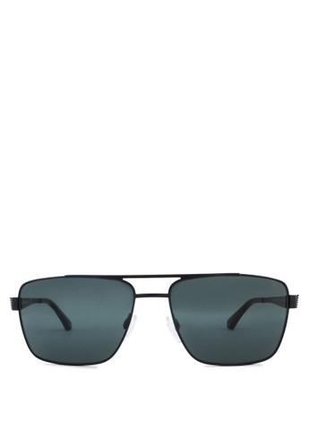 基本款zalora開箱方框太陽眼鏡, 飾品配件, 飾品配件