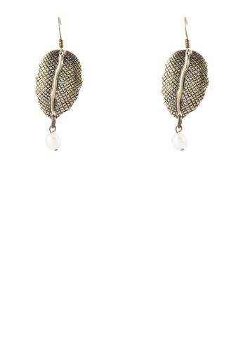 Bidara 牌飾珍珠耳環, 飾品配件, zalora 包包 ptt其他