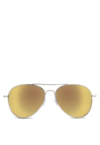 飛zalora鞋行員太陽眼鏡, 飾品配件, 飛行員框