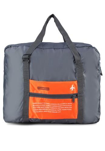 輕量防水可折式旅行手提袋, zalora時尚購物網評價包, 旅行袋