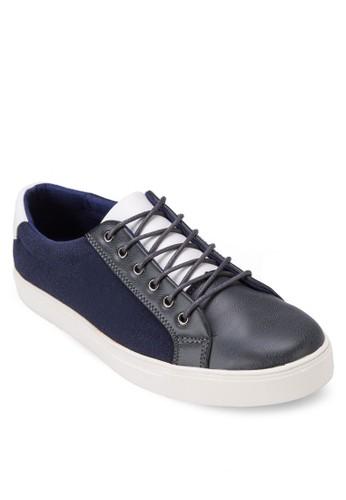 三色拼zalora 心得接繫帶休閒鞋, 鞋, 鞋