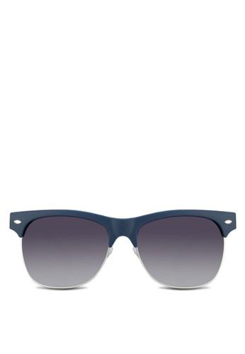 Compstozalora 評價n 半粗框太陽眼鏡, 飾品配件, 方框