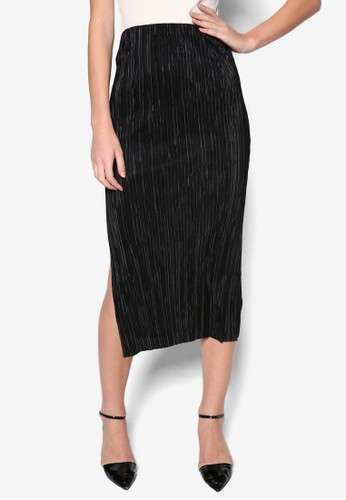 Plisee 閃飾鉛筆窄裙, 服飾topshop台北, 裙子