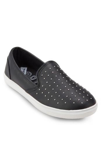 Kebby 鉚zalora 台灣釘懶人鞋, 女鞋, 鞋