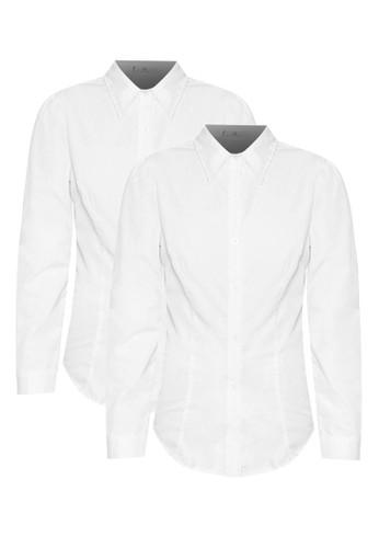 二入 Iris 長袖襯衫,zalora鞋 服飾, 上衣