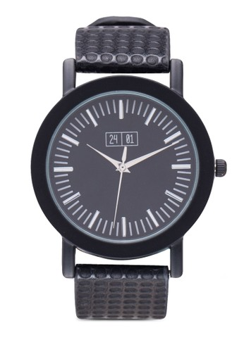 點zalora退貨點壓紋指針錶, 錶類, 其它錶帶