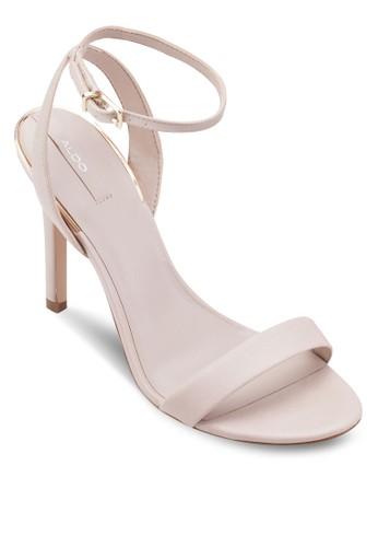 Lovarema 一字帶繞踝高跟鞋, 韓系時尚, aldo tw梳妝