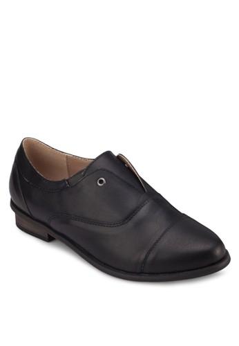 金屬孔杏仁頭皮鞋, 女鞋,zalora時尚購物網的koumi koumi 鞋