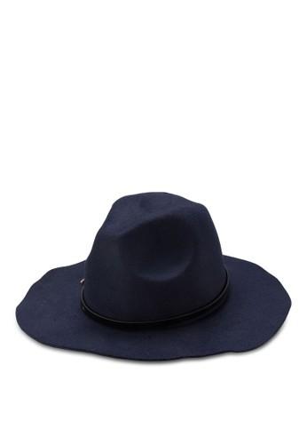 細zalora 鞋評價皮帶寬簷紳士帽, 飾品配件, 爵士帽