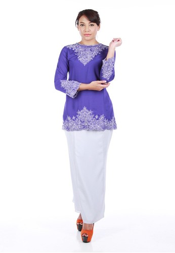 Alana Kurung Modern from La Penderie by fs in Blue