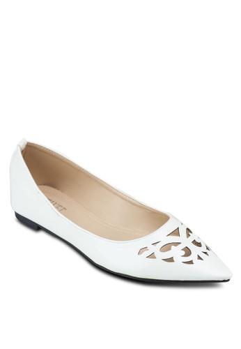 鏤空尖頭平底鞋, 女鞋zalora 心得, 芭蕾平底鞋
