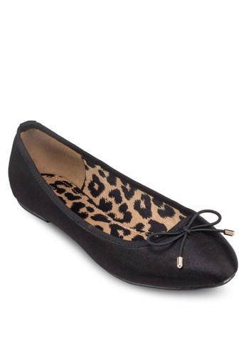 豹紋內襯蝴蝶結平底鞋, 女zalora鞋子評價鞋, 鞋
