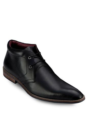 經典繫帶尖頭皮鞋zalora退貨, 鞋, 鞋