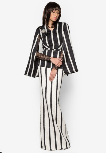 Kurung Buras from Woo/Fiziwoo for Zalora in Black and White