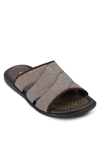 寬帶休閒拖鞋,zalora 順豐 鞋, 拖鞋