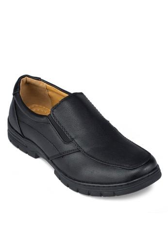 簡約休zalora 評價閒風皮鞋, 鞋, 鞋