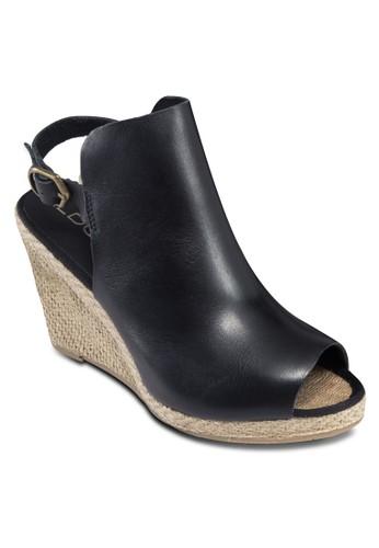 Yotimo-U 露趾繞踝楔形涼鞋, 女aldo台灣專櫃鞋, 鞋