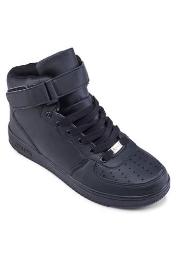 穿孔高筒休閒運動鞋, zalora 台灣鞋, 休閒鞋