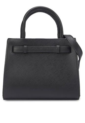 Saffiano 十字紋托特包zalora時尚購物網評價, 包, 手提包