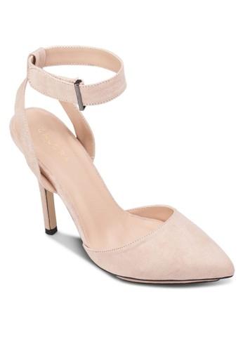 厚底繞踝尖zalora時尚購物網評價頭高跟鞋, 女鞋, 鞋