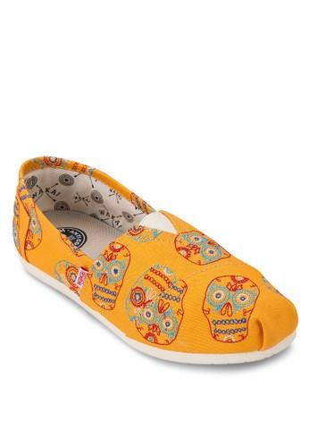 Muertzalora鞋e 印花懶人鞋, 女鞋, 休閒鞋