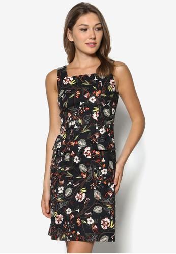 花卉粗肩帶洋裝, 服飾, 夏日洋zalora退貨裝