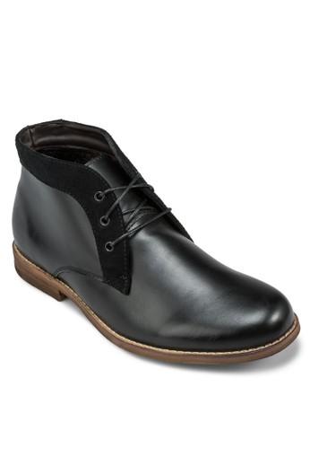 Ezzelin 繫帶筒靴, 鞋, 靴zalora 台灣子