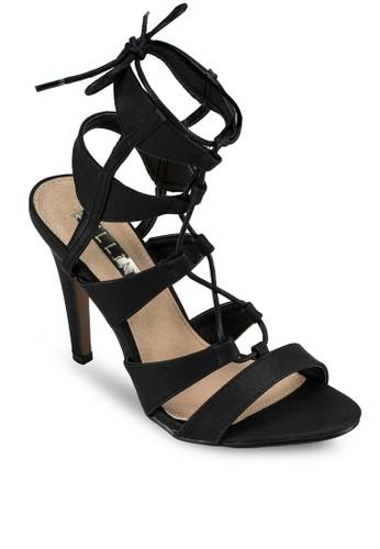 Oazalora 鞋評價sis 繫帶高跟涼鞋, 女鞋, 鞋