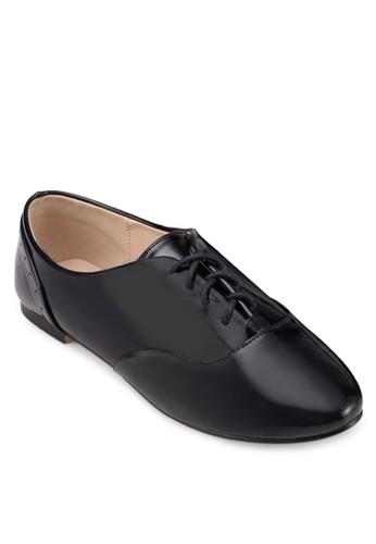 漆皮繫帶牛津鞋, 女鞋, 牛津鞋 &amzalora 心得p; 雕花牛津鞋