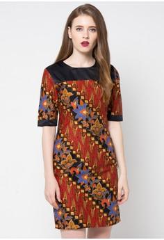 Model Baju Kerja Batik Wanita Dress