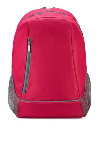網眼側口袋後背zalora 包包評價包, 包, 飾品配件
