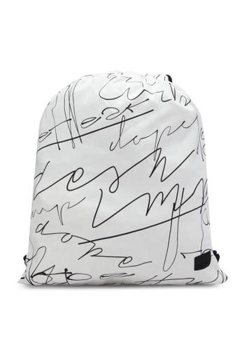 簽名抽繩後zalora 包包評價背包, 包, 包