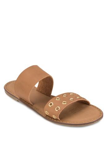 Kendall 雙寬帶涼鞋, 女鞋, 涼zalora 評價鞋