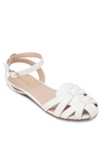 多帶平底涼鞋, zalora時尚購物網評價女鞋, 涼鞋