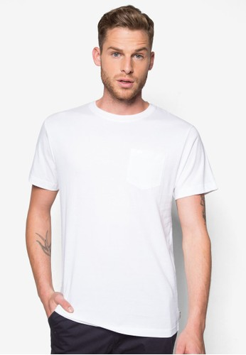 基本zalora 心得款混色TEE, 服飾, T恤