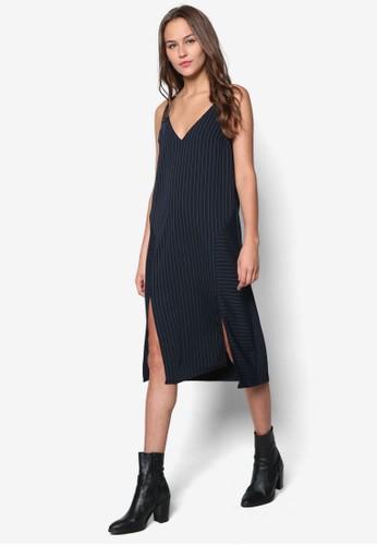 細條紋露背連身裙, 服飾, 服topshop 鞋飾