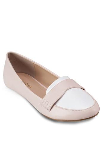 撞色樂zalora 心得福鞋, 女鞋, 芭蕾平底鞋